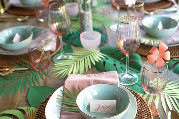 DIY Bridal Shower Party Lia Griffith