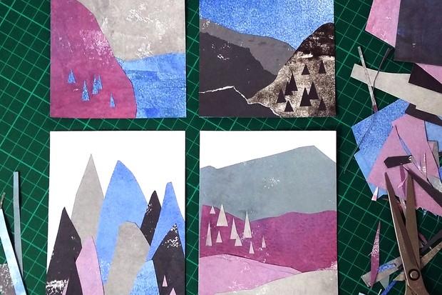 Making collage