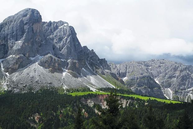 South Tyrol mountains