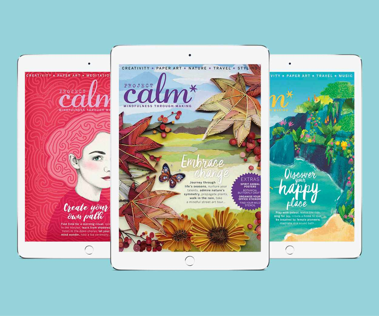 Project Calm digital editions