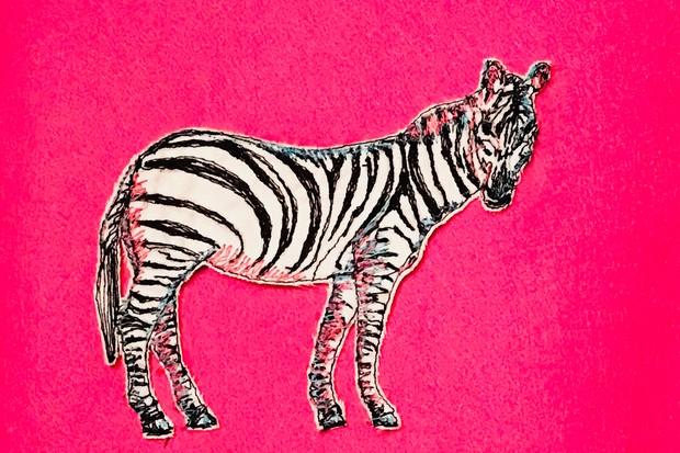 Handmade Fair Sample Zebra Tablet photo cropped Bowood Workshops '17