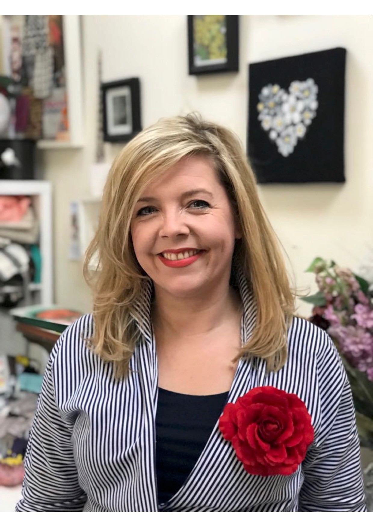 Marketing Publicity Photo Headshot of me Stacey taken by Jayne in her studio Ragley 2018