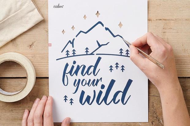 Find your wild stencils
