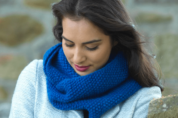 Free Knitting Pattern For Cosy Cowl Scarf Metanoia Snood Calm Moment