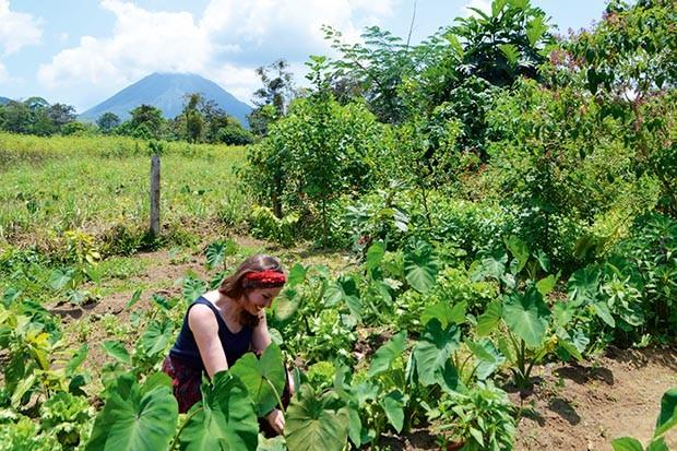 Sian Lewis visits an eco farm