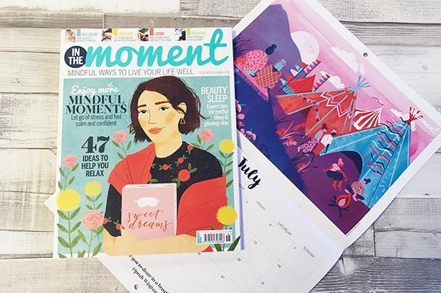 In The Moment Magazine issue 18 and calendar