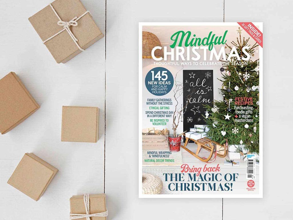 Mindful Christmas magazine cover