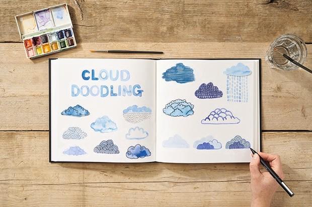 Cloud doodling