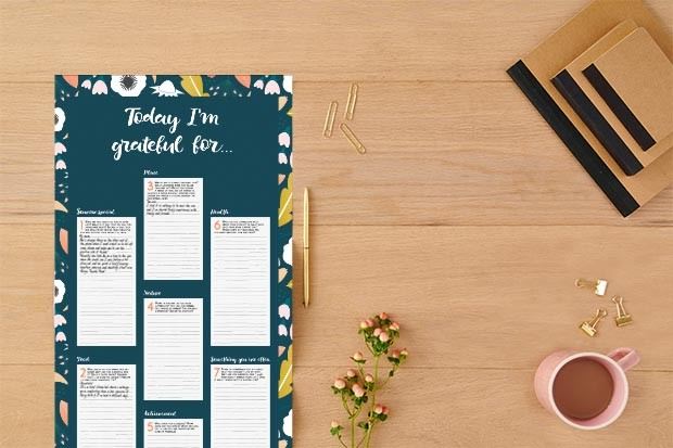 Gratitude planner