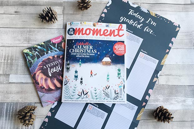 In The Moment issue 19 cover and gifts