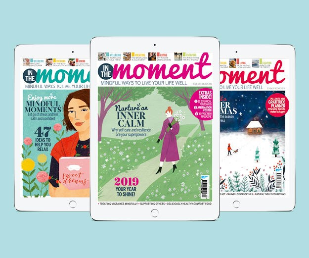 In The Moment Magazine issue 20 covers digital