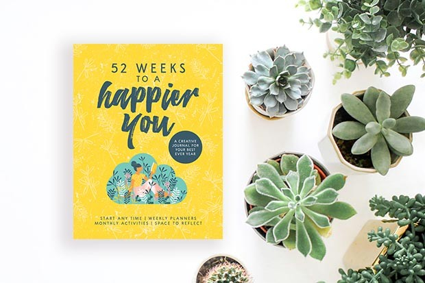 52 Weeks to a Happier You journal
