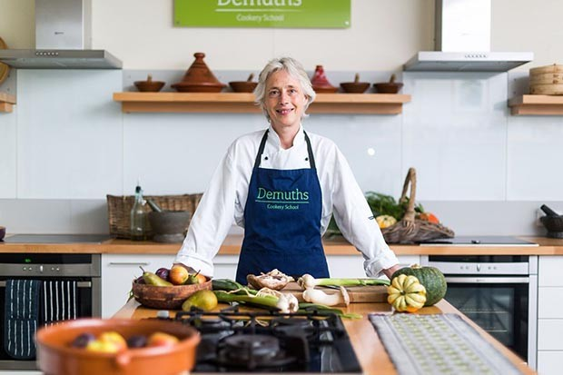 Rachel Demuth of Demuths Cookery School in Bath
