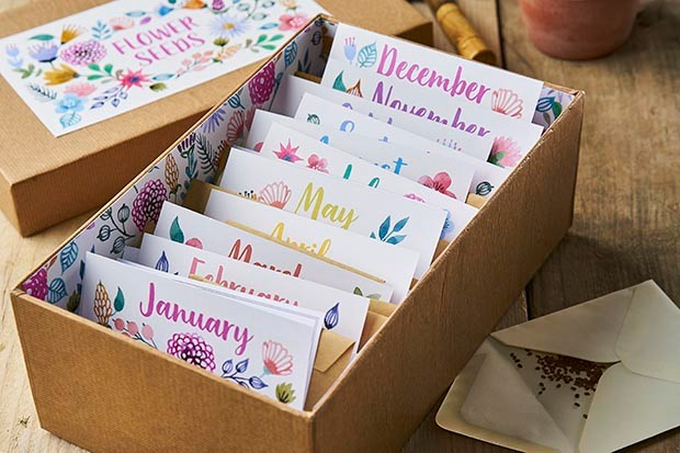 Flower Patch seed envelopes
