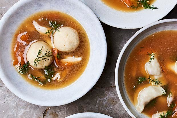 Jewish chicken soup recipe by Gizzi Erskine