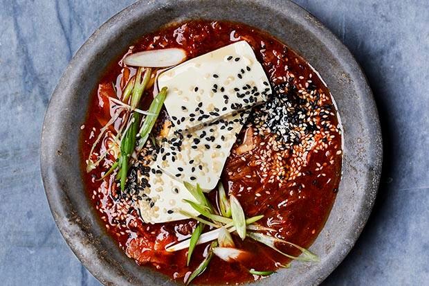 Kimchi jiggae recipe by Gizzi Erskine
