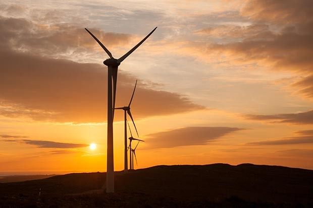 Pentland Road Windfarm, Scotland - example financed by Triodos 2
