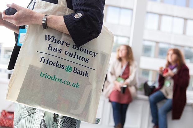 Triodos Bank canvas bag