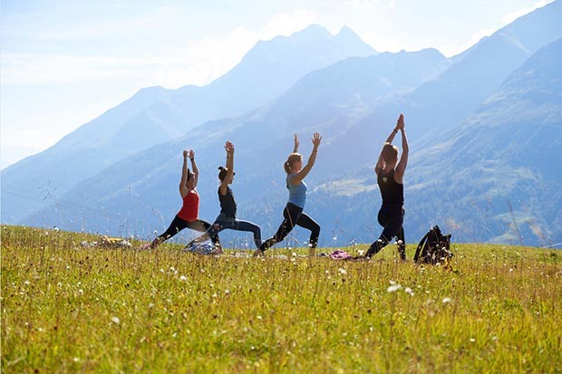 Yoga Am Berg mountain yoga festival in Austria