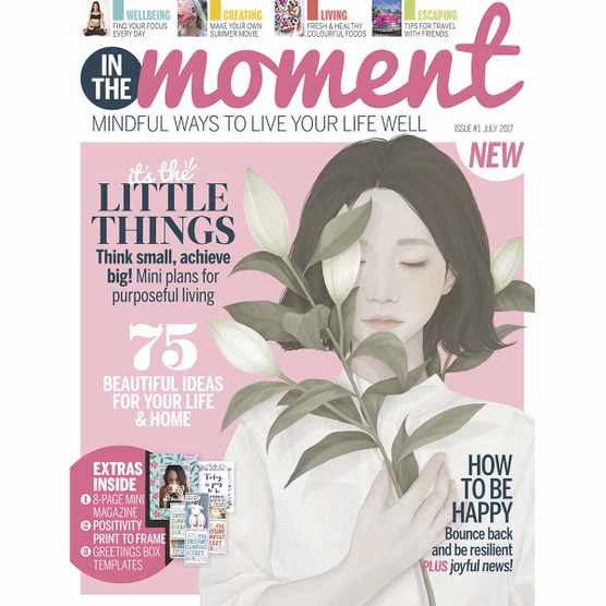 In The Moment issue 1 cover