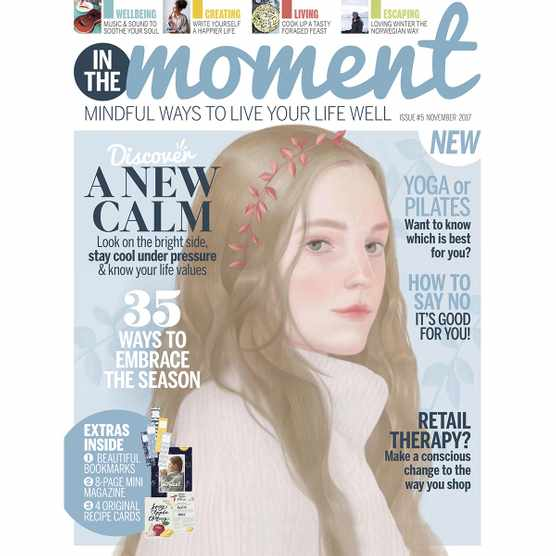 In The Moment issue 5 cover