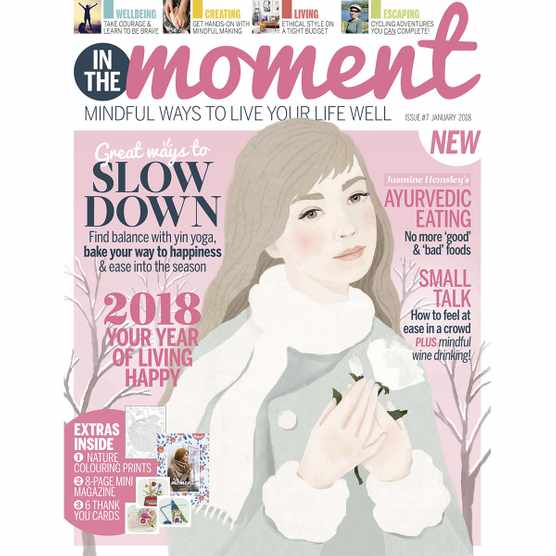 In The Moment Magazine issue 7 cover