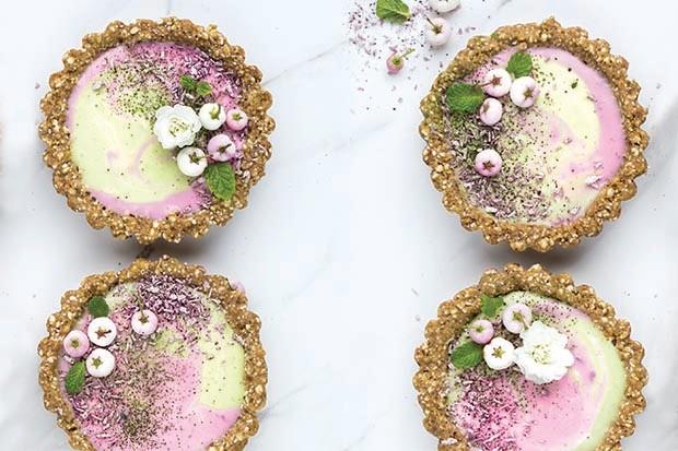 Matcha tarts by Bo's Kitchen