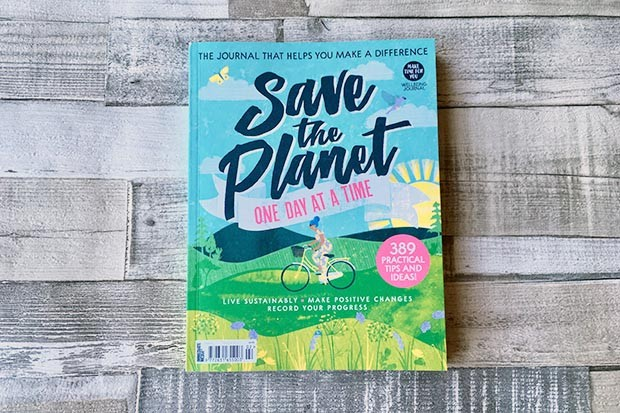 Save the Planet journal cover