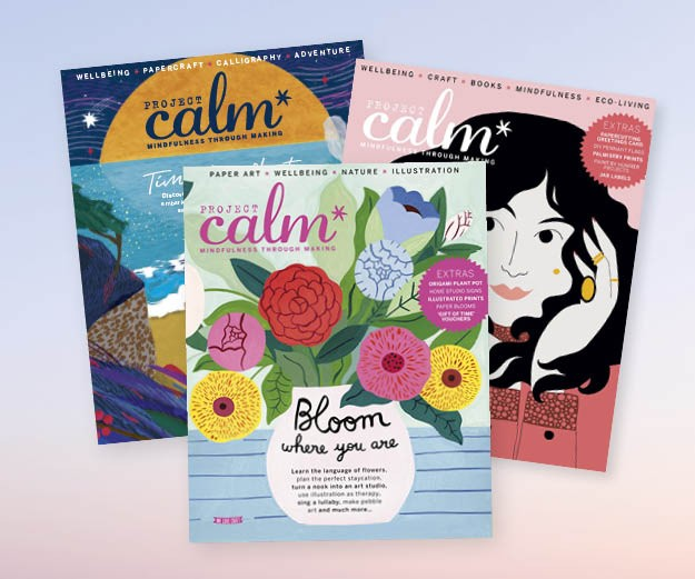 Project Calm assorted covers