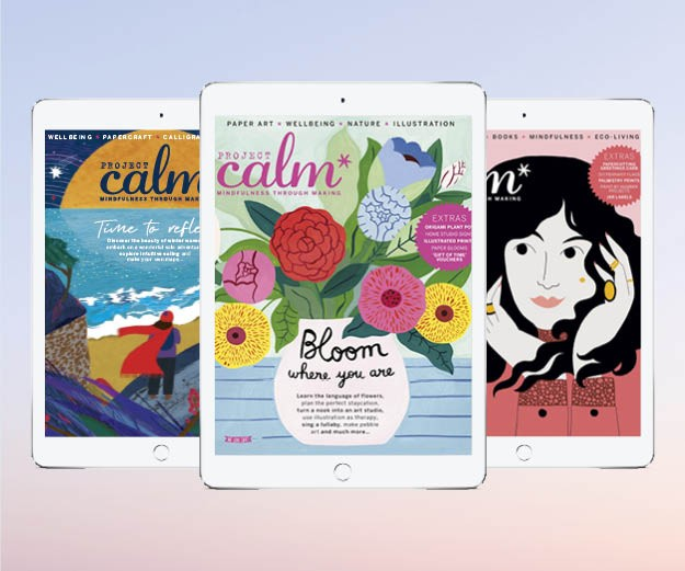 Project Calm digital covers