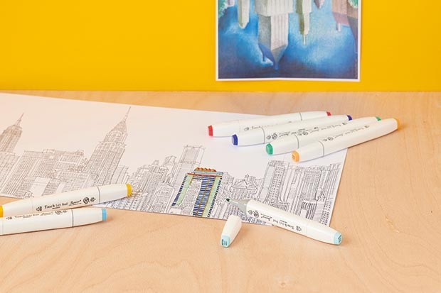 Colouring in cityscapes