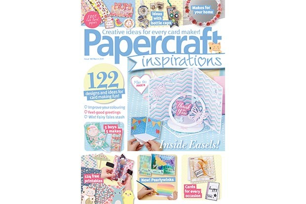 Papercraft Inspirations issue 188 cover