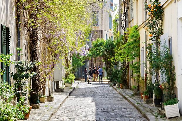 Rue des Thermopyles in Paris