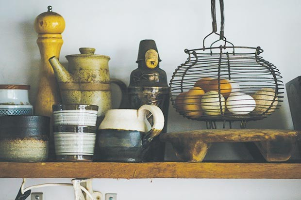 Wabi-sabi shelf