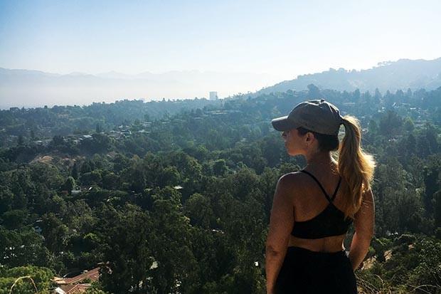 Fryman Canyon Park in Los Angeles