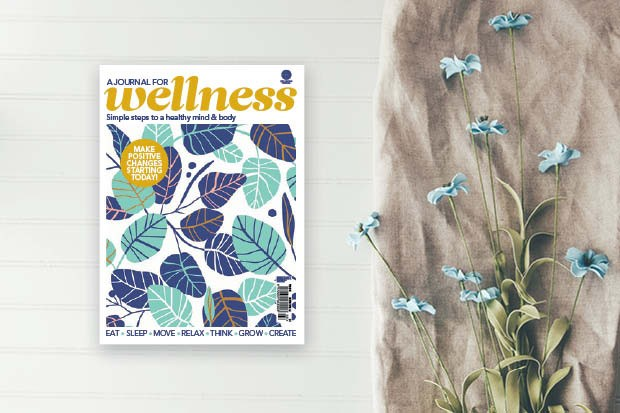 Wellness journal cover