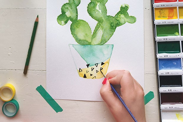 how-to-paint-watercolour-cactus-step-7