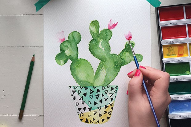 how-to-paint-watercolour-cactus-step-8