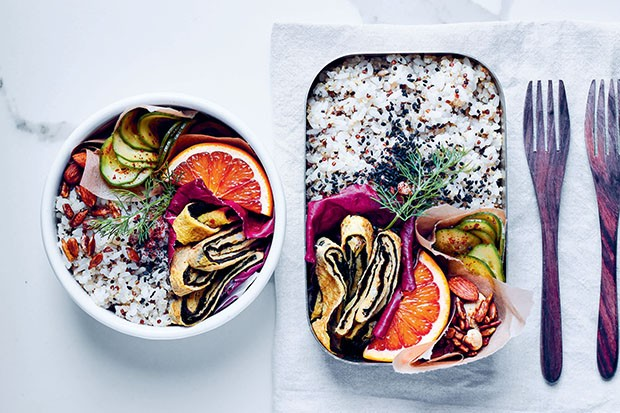 Lazy Tamago Bento recipe