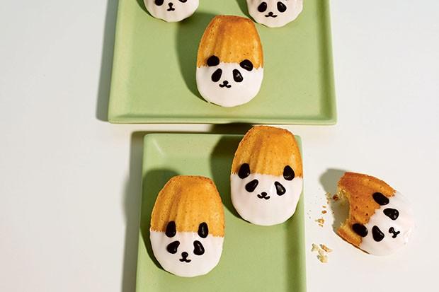 Panda madeleines recipe by Kim-Joy Hewlett