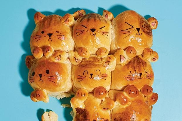 Tangzhong cat buns recipe by Kim-Joy Hewlett