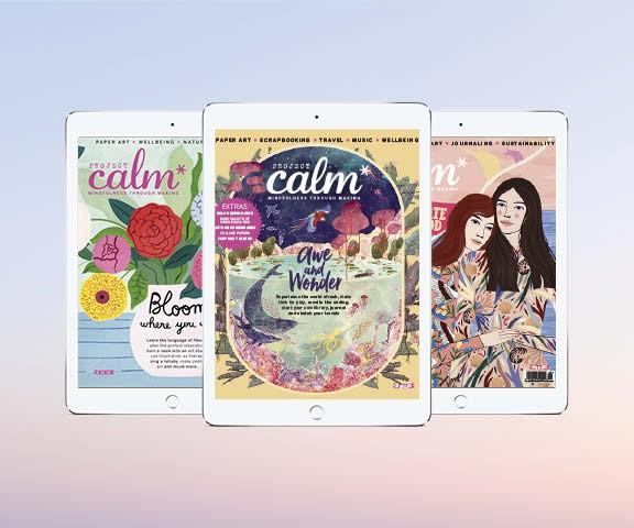 Project Calm digi covers