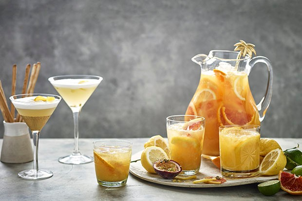 St Clement's punch passionate alcohol-free cocktail recipe