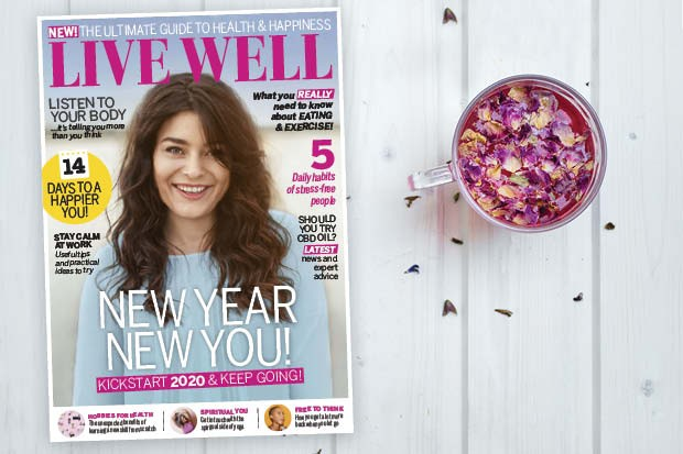 Start the year on a positive note with Live Well magazine