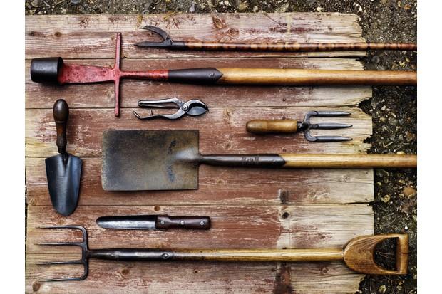 classic garden tools