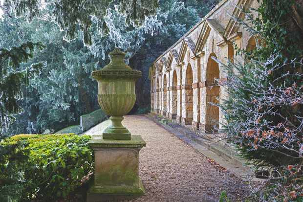The Praeneste is an arcade ostensibly based on an ancient Roman feature, though Kent may have been influenced as much by a stable block designed by Inigo Jones.