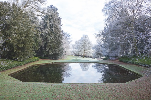 The Octagon Pond is one of the areas in the garden when the visitor is propelled dramatically from darkness to light.