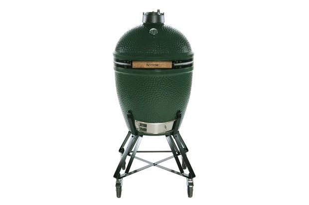 Large big green egg ceramic outdoor oven