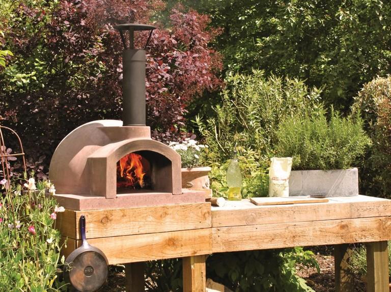 Outdoor ovens for garden open air cooking