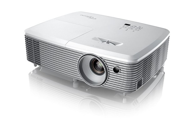 Simplicity in design, the Optoma EH400 projector is bright and portable with a spec of 4,000 lumen, 1080p.